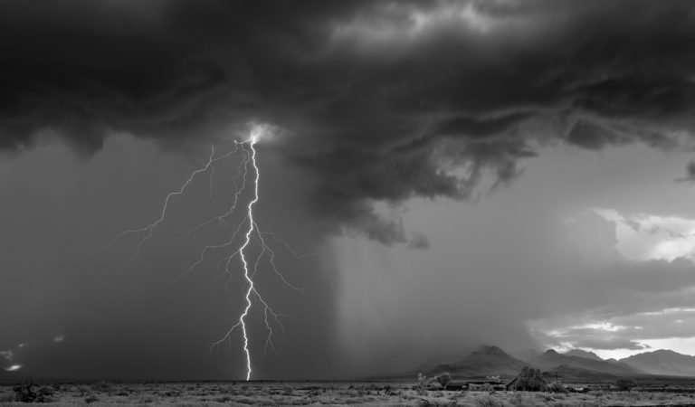 Λευκή καταιγίδα.