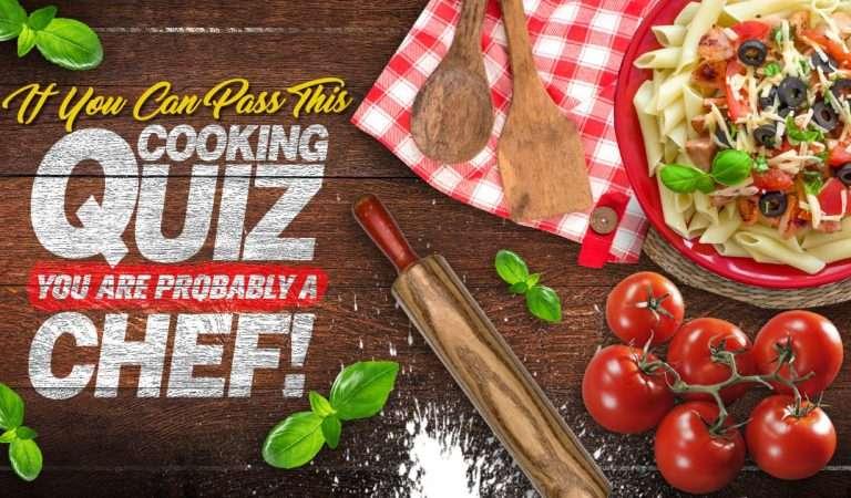 QUIZ – Για να δούμε πόσο «Master chef» είσαι!